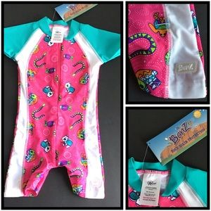 Banz | Toddler One Piece Swimsuit | 18 mos. | NWT